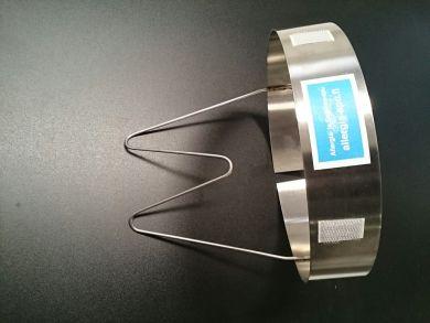 Railuft 200 mm kanavasuodatinkehikko