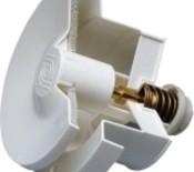 Velco korvausilmaventtiili ilman termostaattia