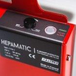 Rakennuspölyn poistoon Hepamatic ilmanpuhdistin/alipaineistaja