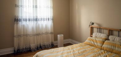 Lifa Air makuuhuoneessa