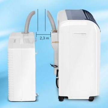Hiljainen ja tehokas ilmastointilaite