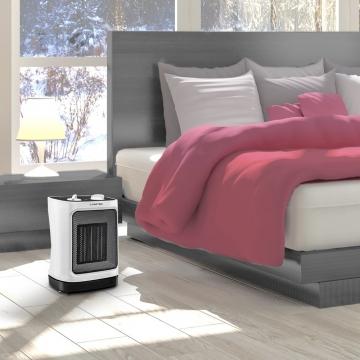 Lämpöpuhallin makuuhuone