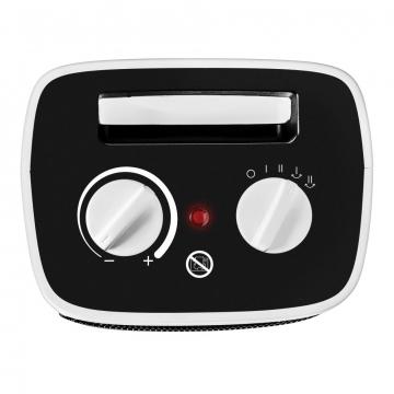 Lämpöpuhallin termostaatilla
